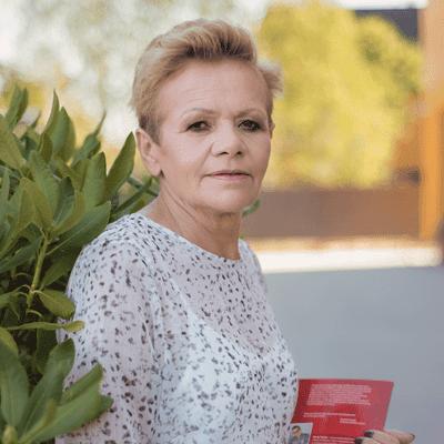 Barbara Gawrych - pracownik gospodarczy
