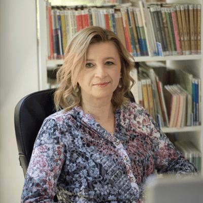 Bogusława Radolińska - specjalista ds. administracyjno-księgowych