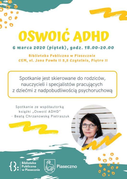 Spotkanie autorskie Oswoić ADHD