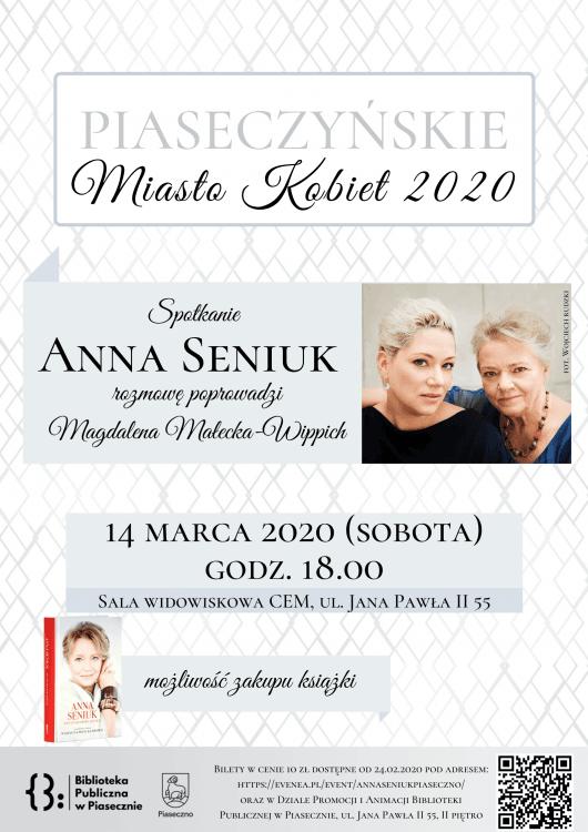 Piaseczyńskie Miasto Kobiet 2010- spotkanie z Anną Seniuk