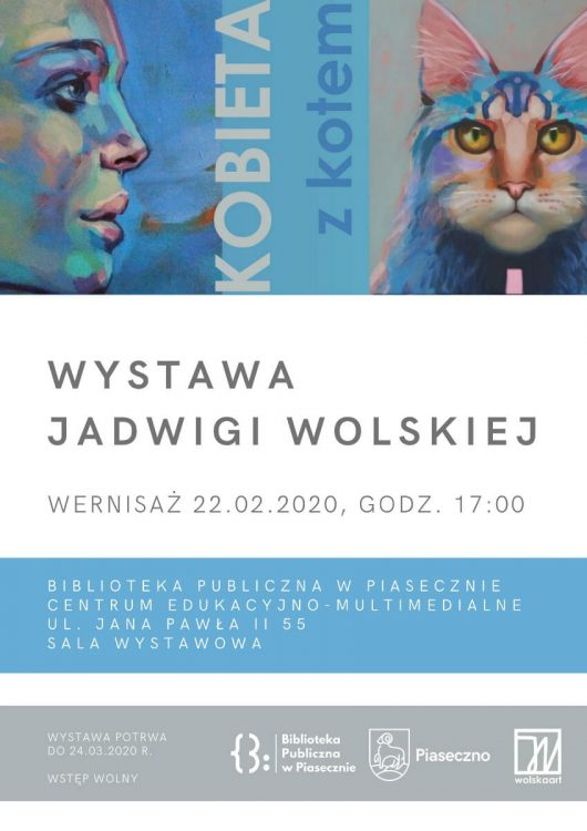 Wernisaz Jadwigi Wolskiej w bibliotece CEM