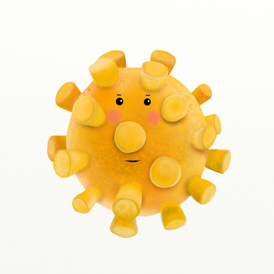 Ksiąka dla dzieci okoronawirusie