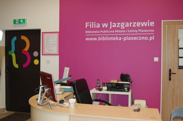 Jazgarzew - Biblioteka Publiczna wPiasecznie