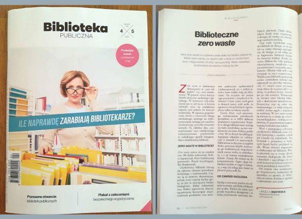 Biblioteczne Zero Waste Piaseczno