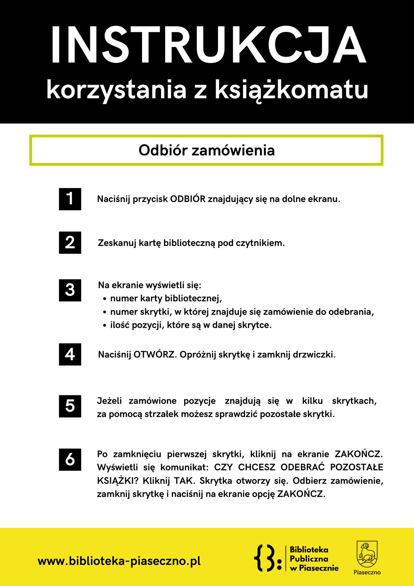 Odbiór Książek ZKsiażkomatu