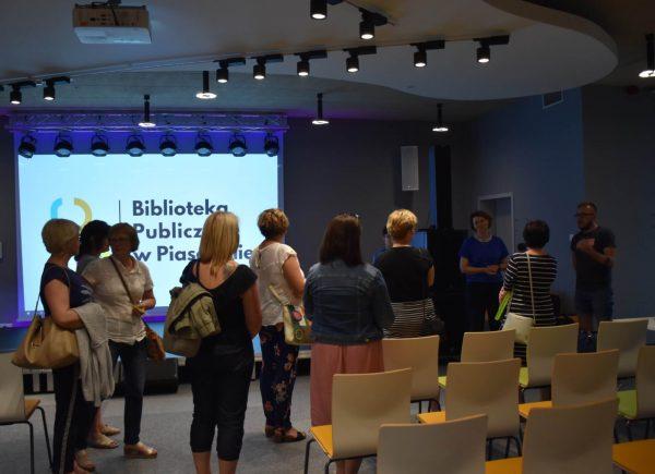Wizyta Bibliotekarek z Lubartowa