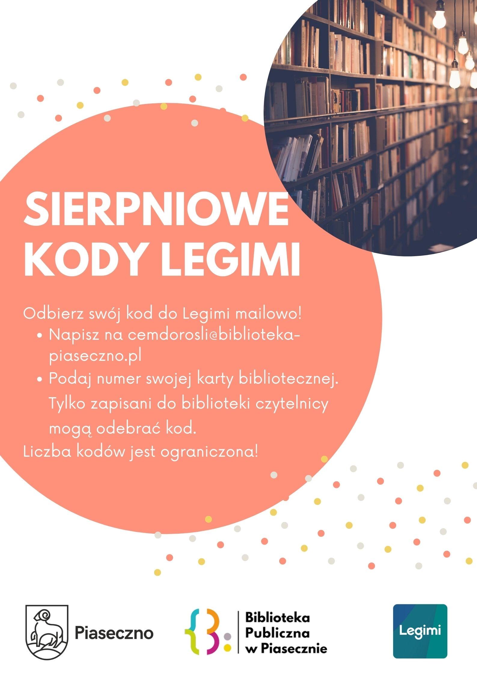 Plakat promujący czytelnictwo w aplikacji legimi