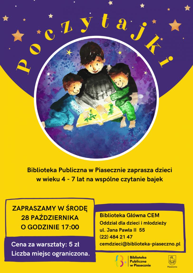 Plakat - Poczytajki dla dzieci