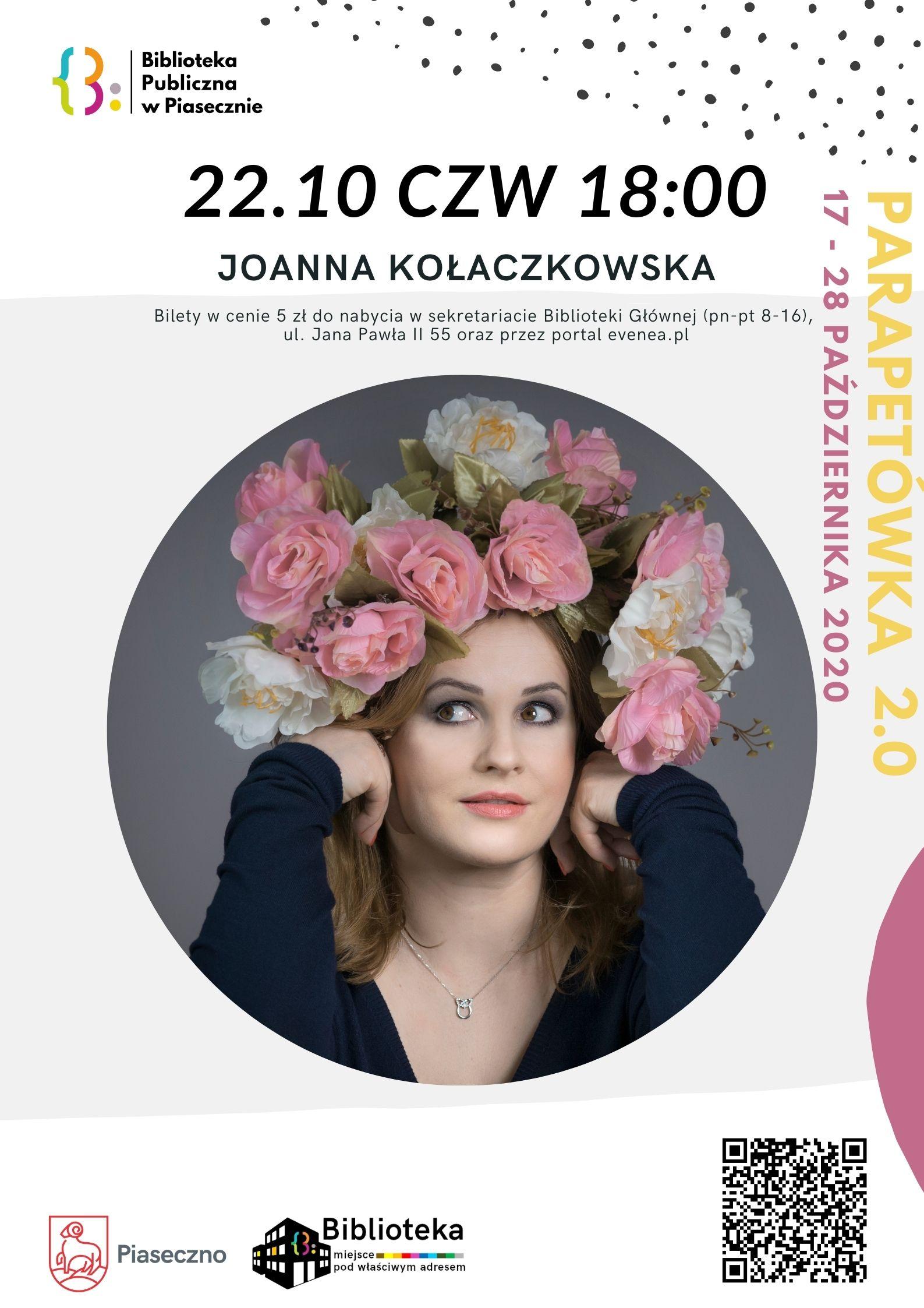 Spotkanie z Joanną Kołaczkowską