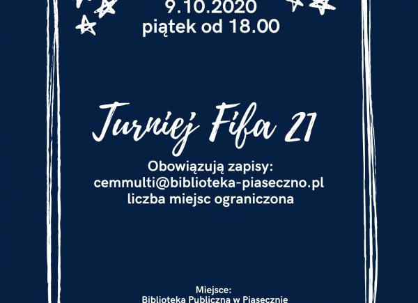 Plakat - Turniej Fifa 21