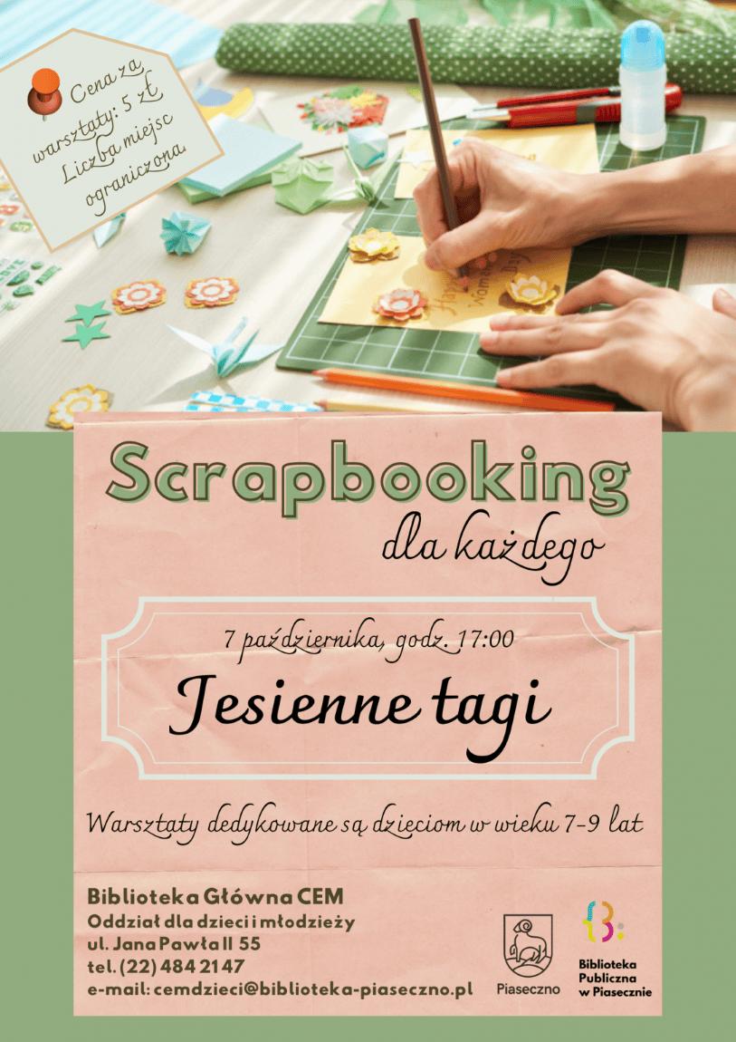 Plakat - Scrapbooking dla każdego