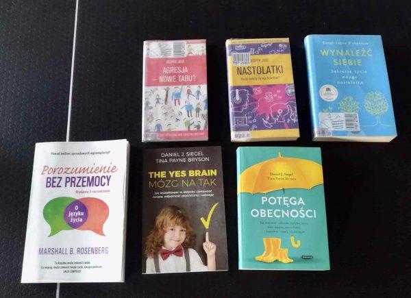 Książki proponowane przezprowadzącą warsztaty