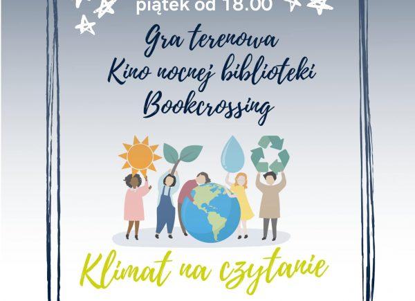 Plakat - Noc Bibliotek w Piasecznie