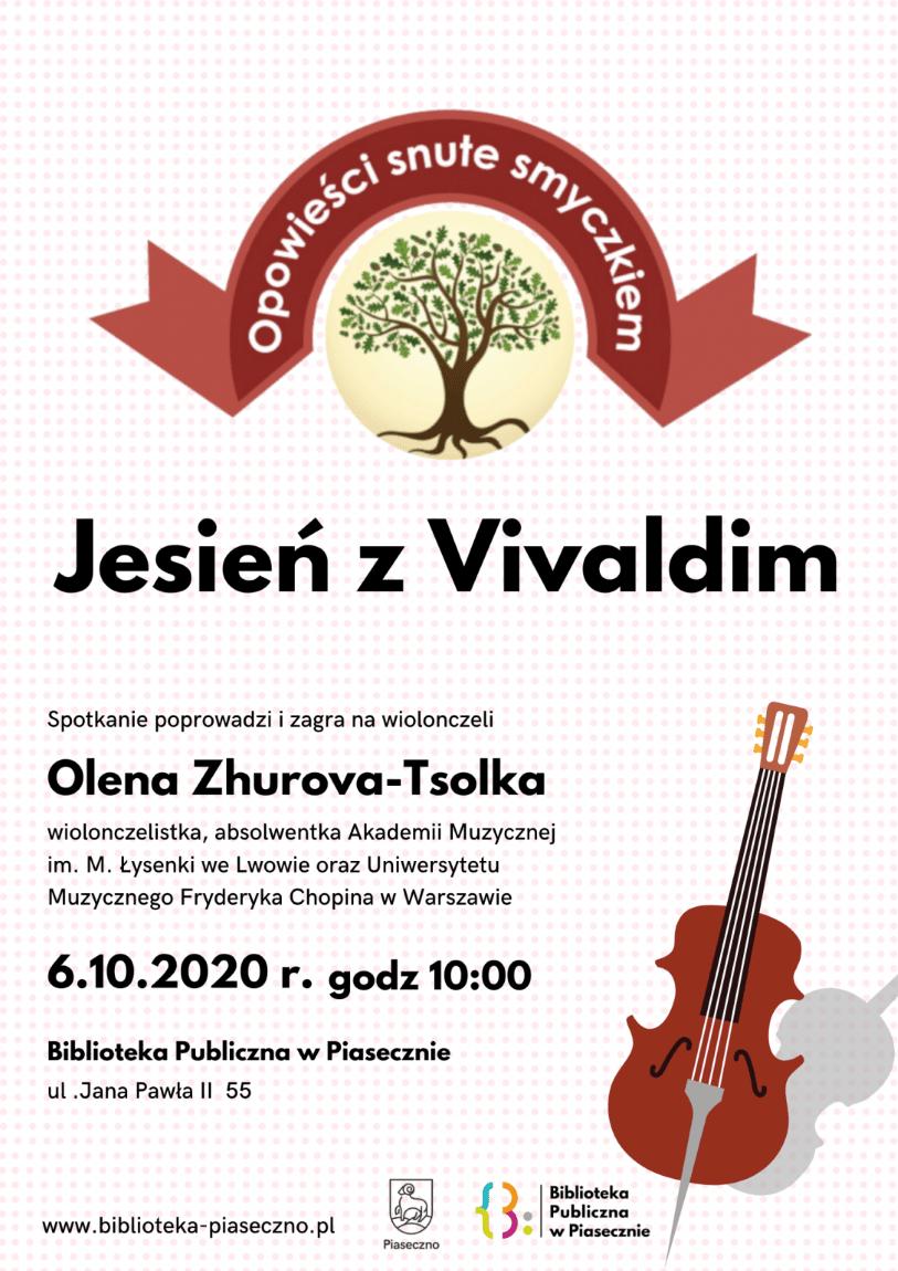 Plakat - Jesień z Vivaldim