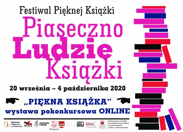 Plakat promujący Festiwal Pięknej Książki