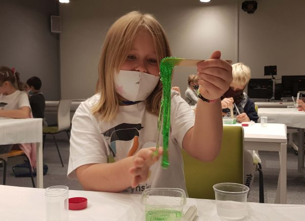 Udany eksperyment chemiczny