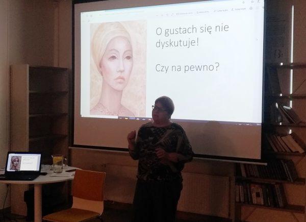 Zdjęcie Agnieszki Gniotek zespotkania