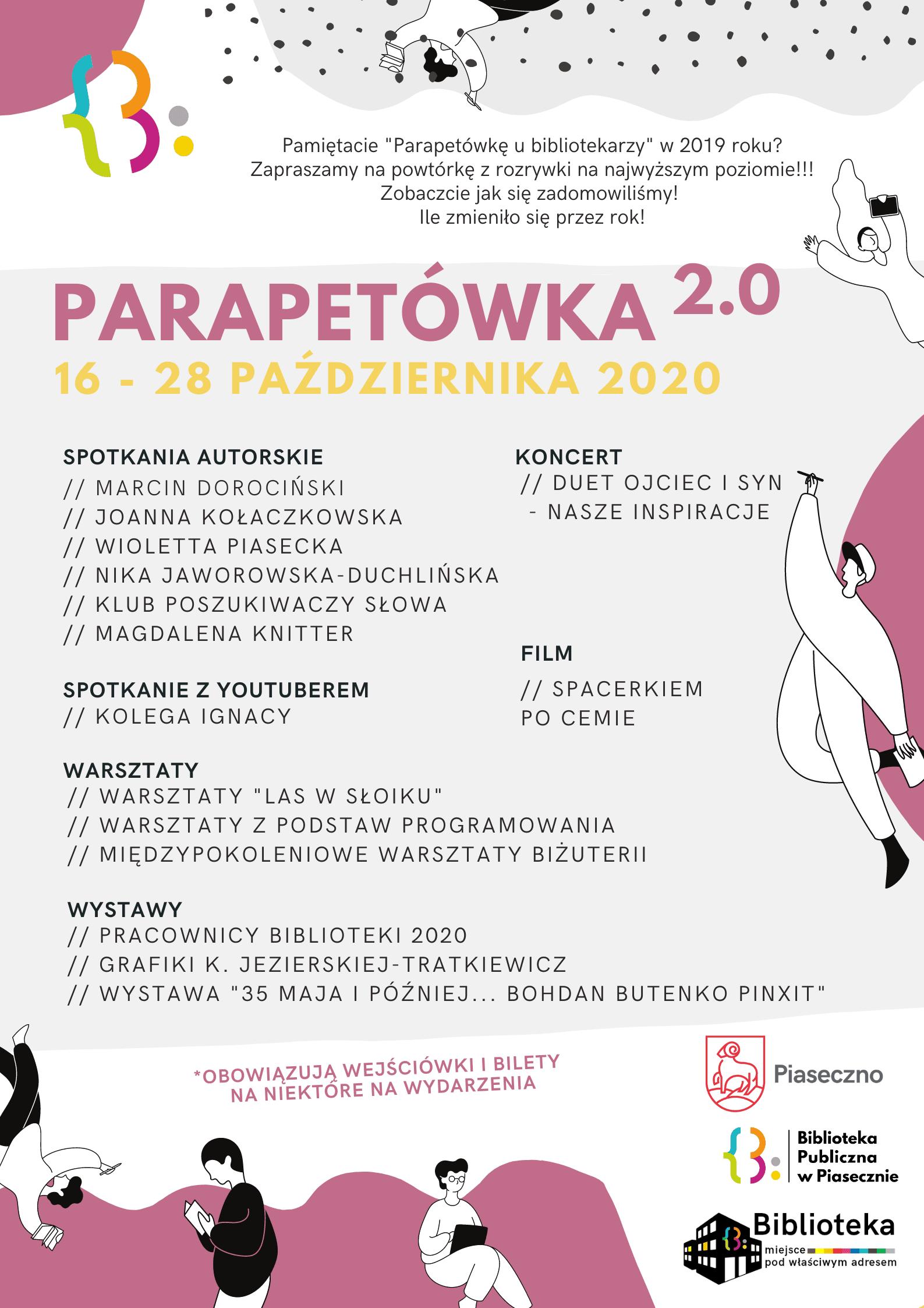 Parapetówka 2.0 - Plan wydarzenia