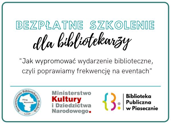 Szkolenie Dla Bibliotekarzy Promocja Eventów