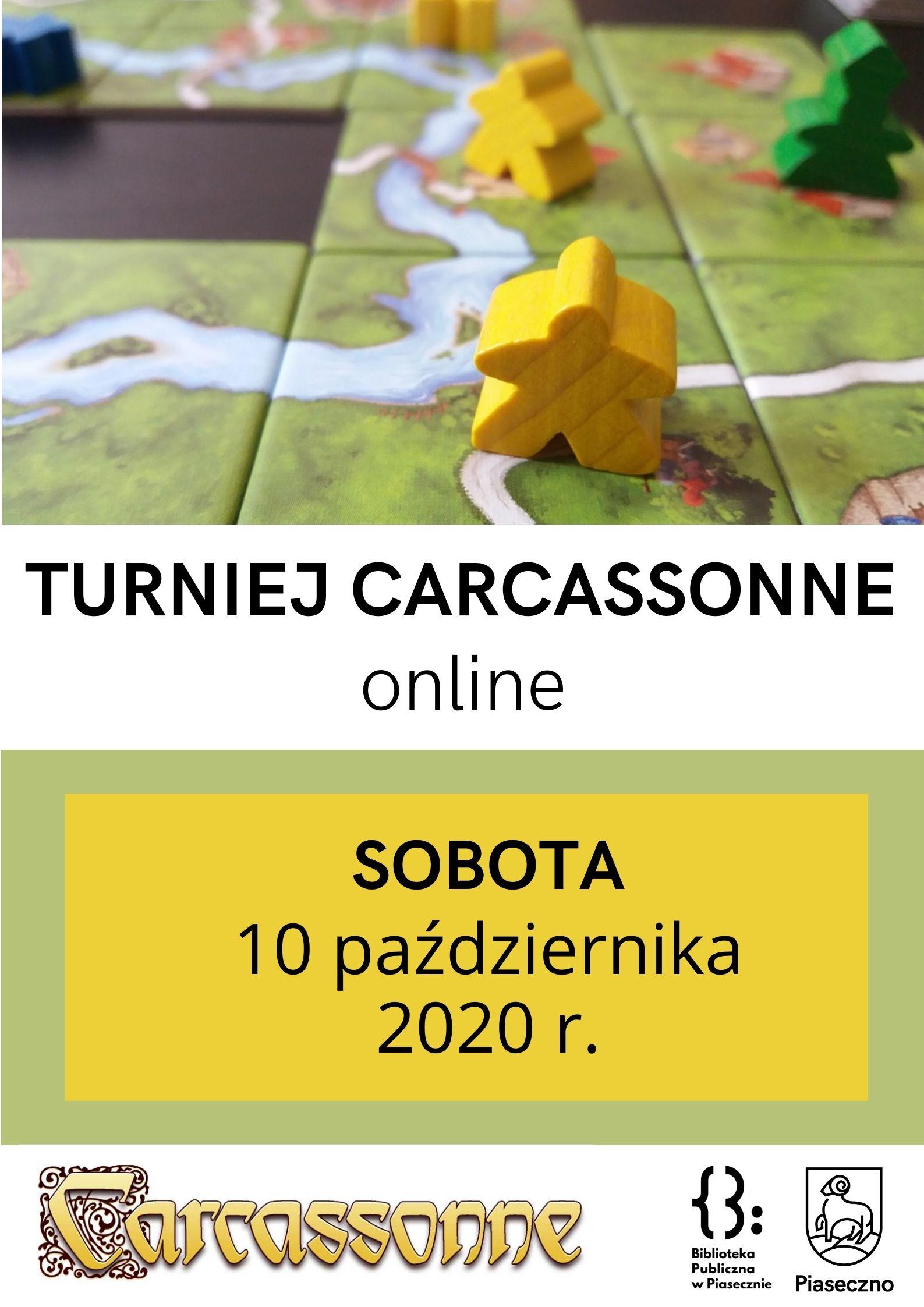 Plakat - Turniej Carcassonne