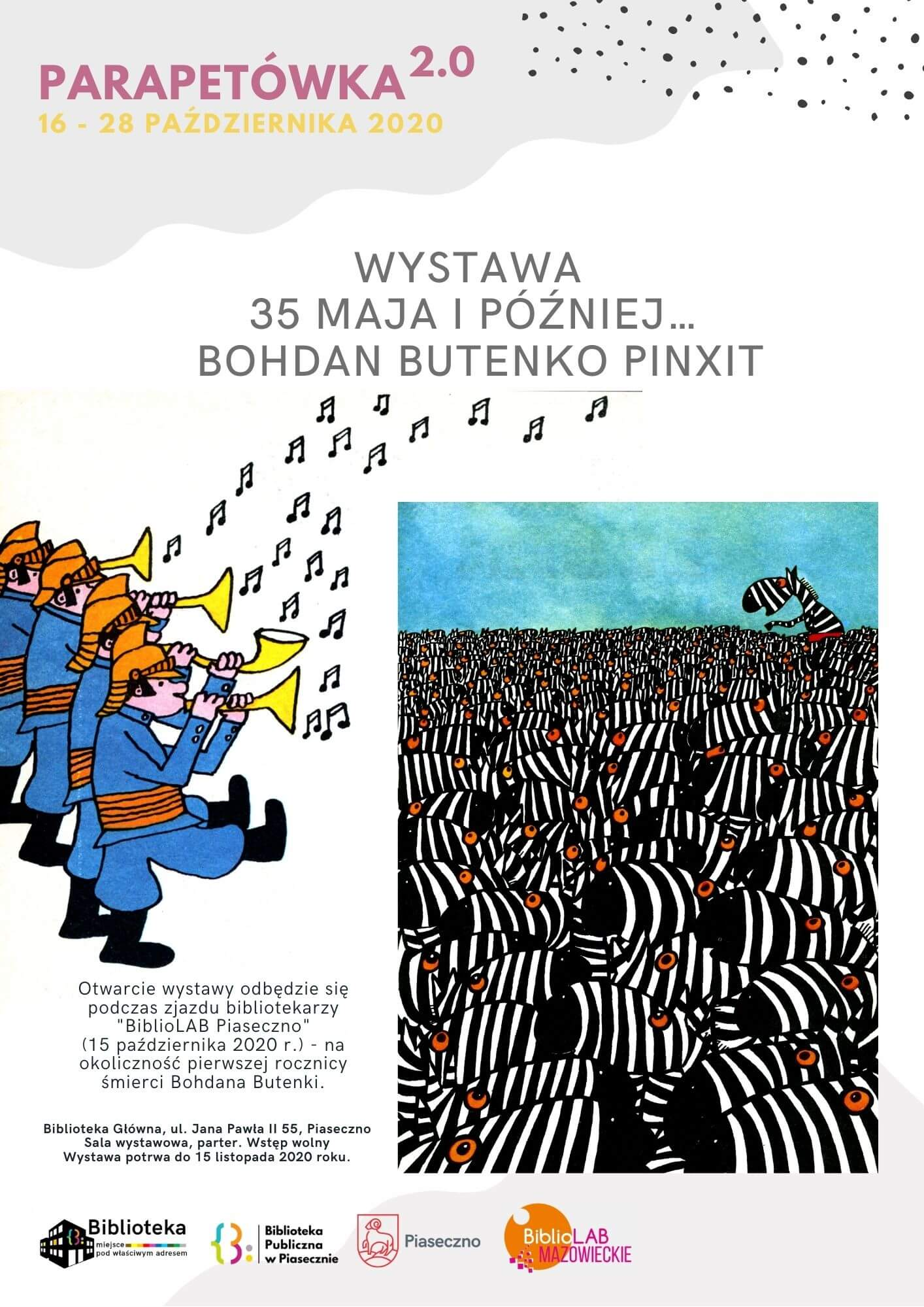 Wystawa Ilustracji Bohdana Butenki