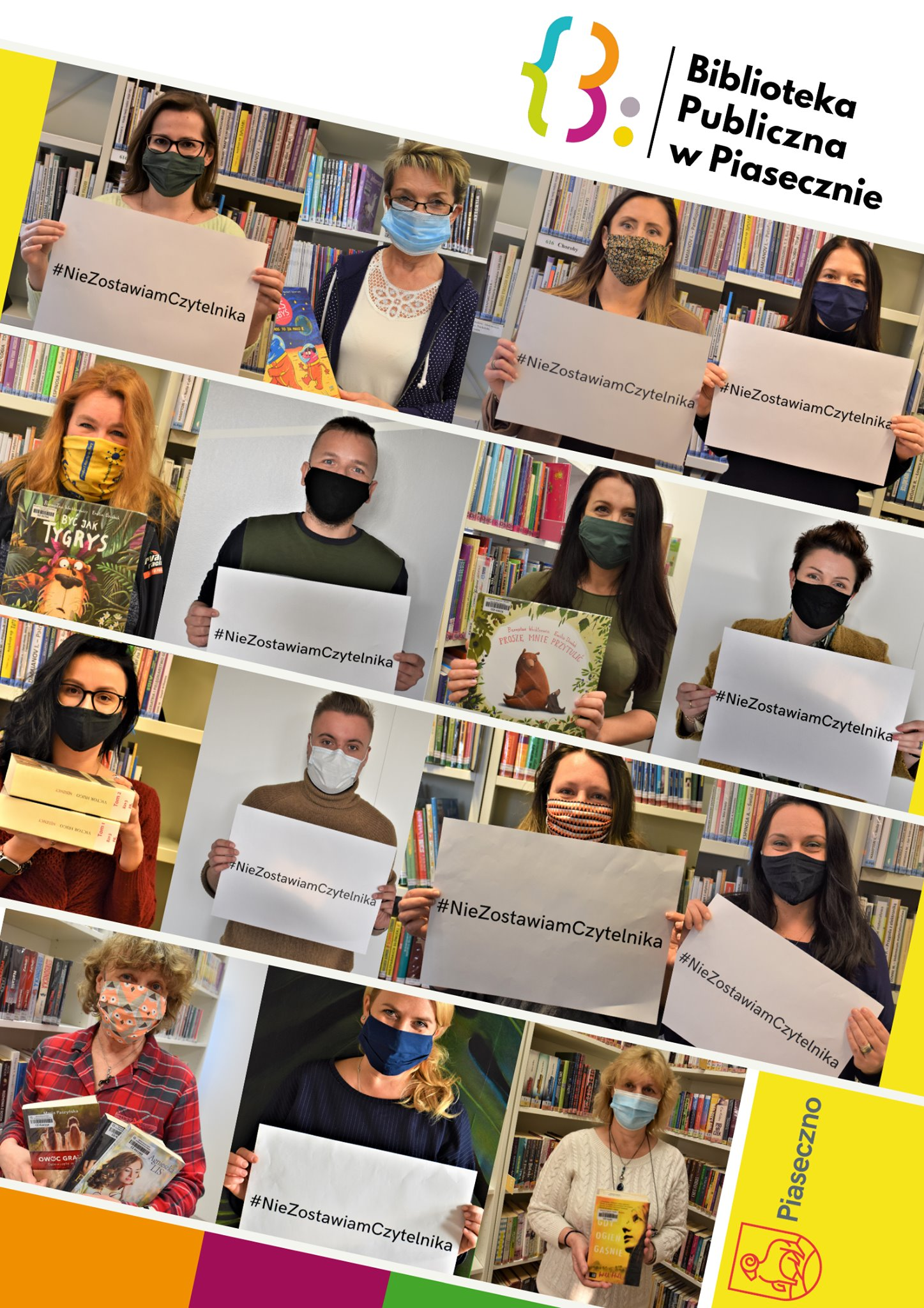 Nie Zostawiam Czytelnika - akcja piaseczyńskich bibliotekarzy