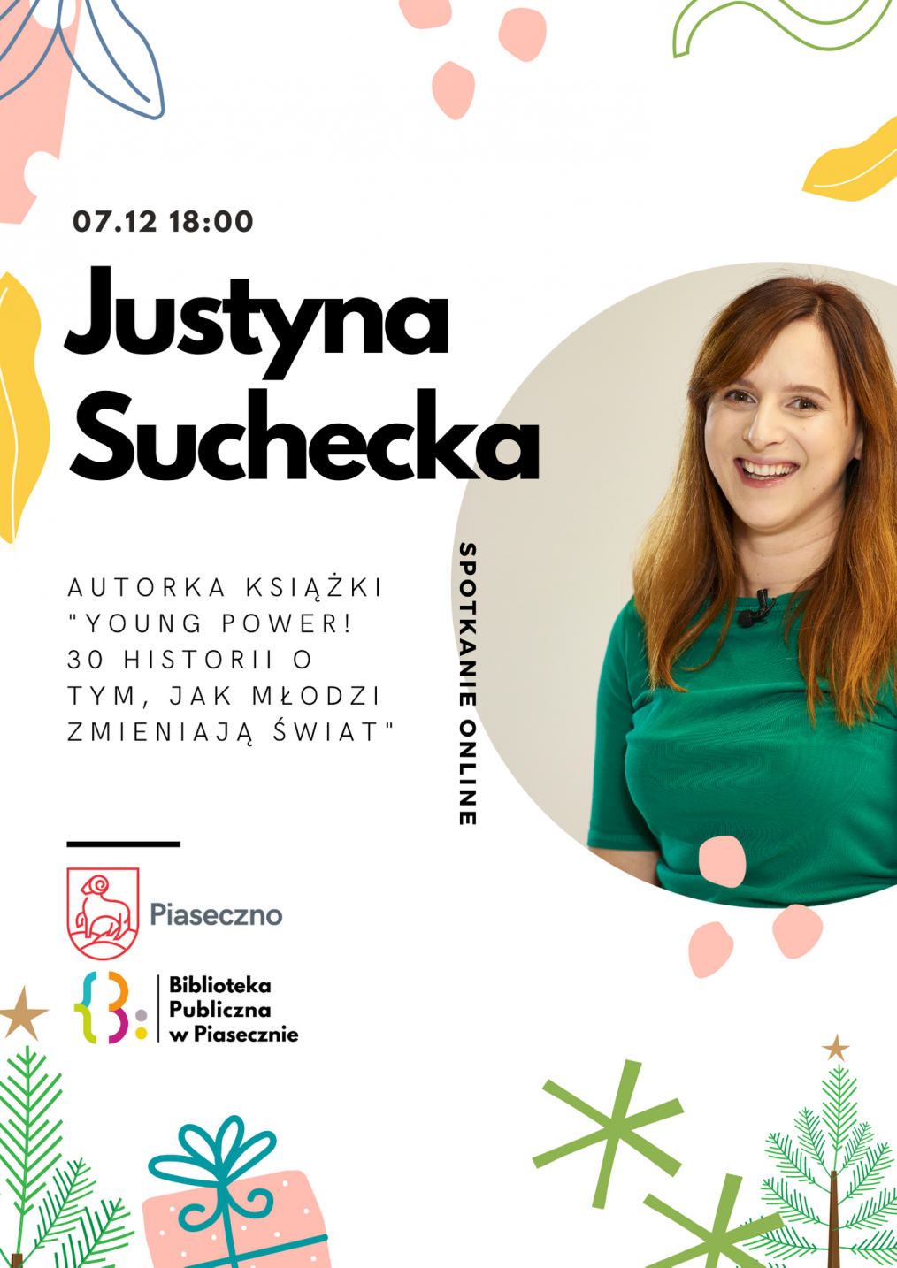 spotkanie z Justyną Suchecką
