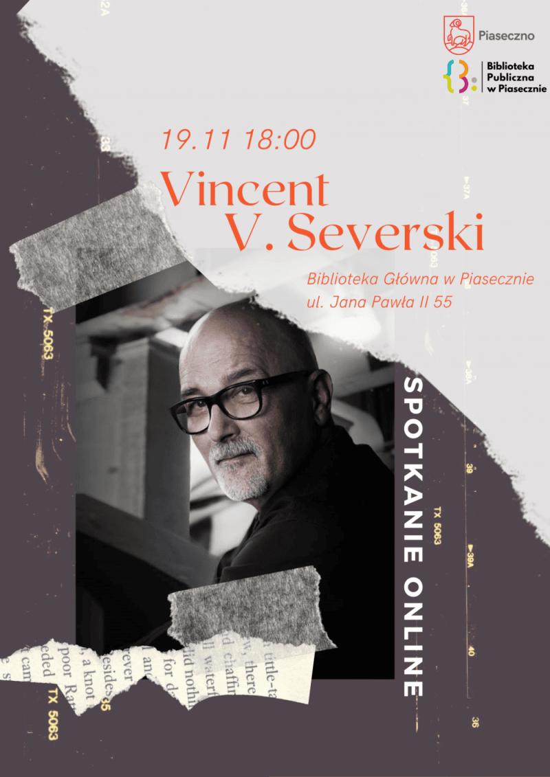 Spotkanie autorskie online z Vincentem V. Severskim