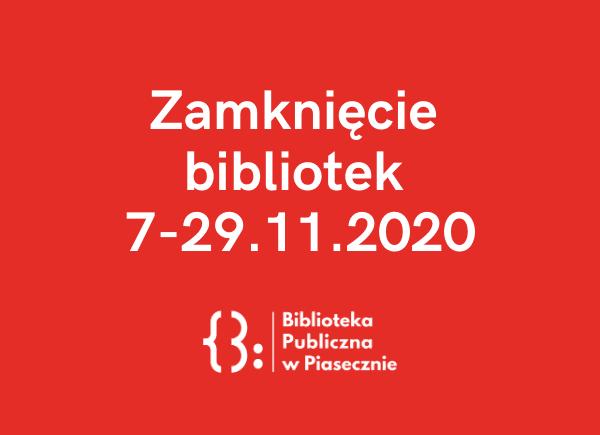Zamknięcie bibliotek