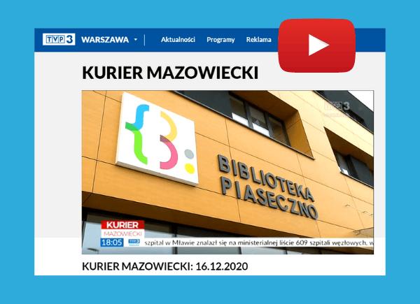 Biblioteka Publiczna W Piasecznie W Kurierze Mazowieckim