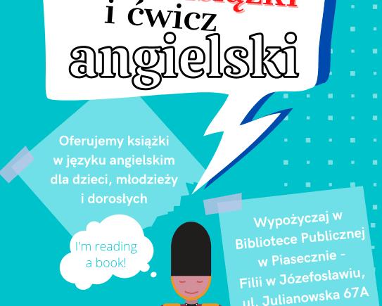 Czytaj książki i ćwicz angielski