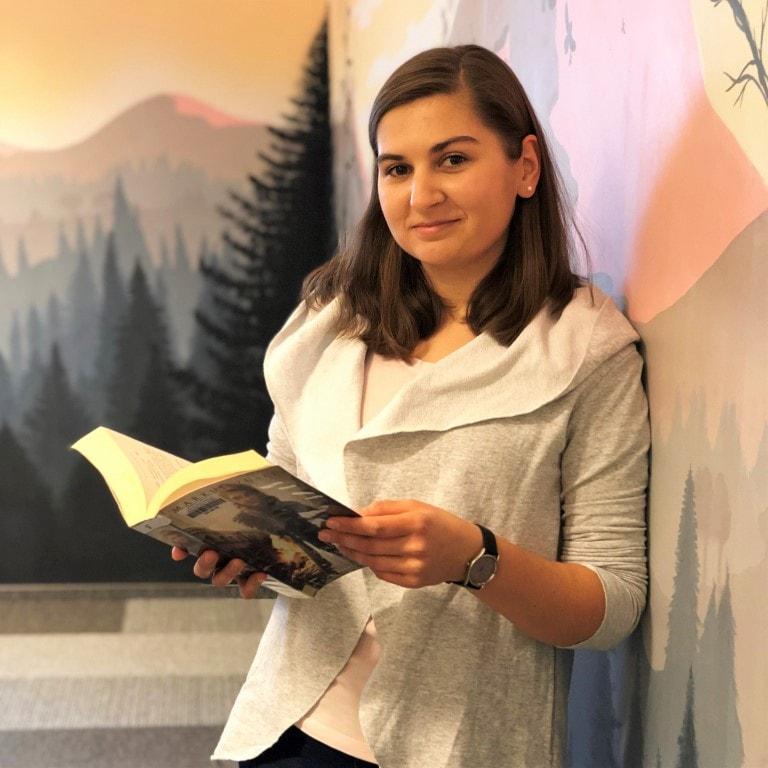 Justyna Szwech - Biblioteka główna w CEM, Oddział dla dzieci i młodzieży
