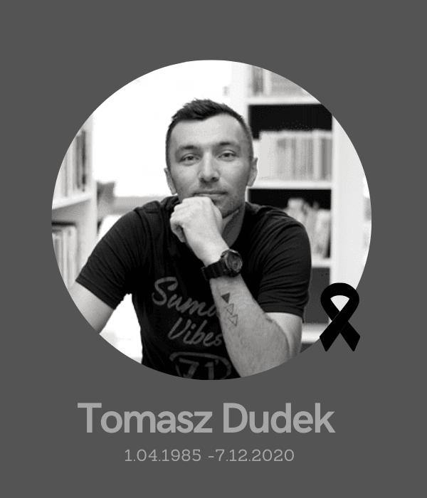 Odszedł Tomasz Dudek - pracownik biblioteki