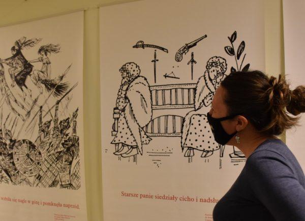 Wystawa Mistrzowie Ilustracji wBibliotece Publicznej wPiasecznie