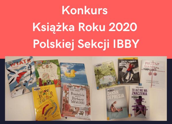Konkurs Książka Roku 2020 Polskiej Sekcji IBBY