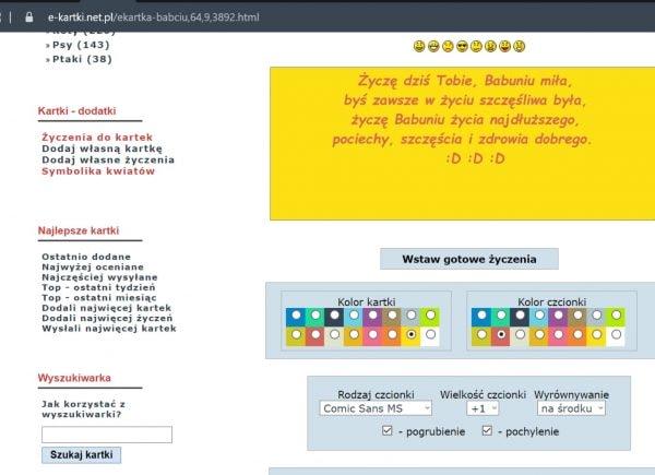 Instrukcja przygotowania e-kartki