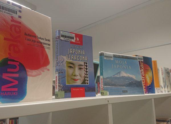Wystawka książek japońskich