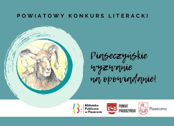 Piaseczyńskie wyzwanie na opowiadanie-konkurs literacki