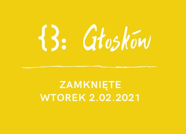 Filia W Głoskowie - zamknięta 02.02.2021