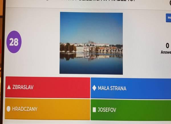 Wielki Rodzinny Quiz o Czechach - przebieg gry