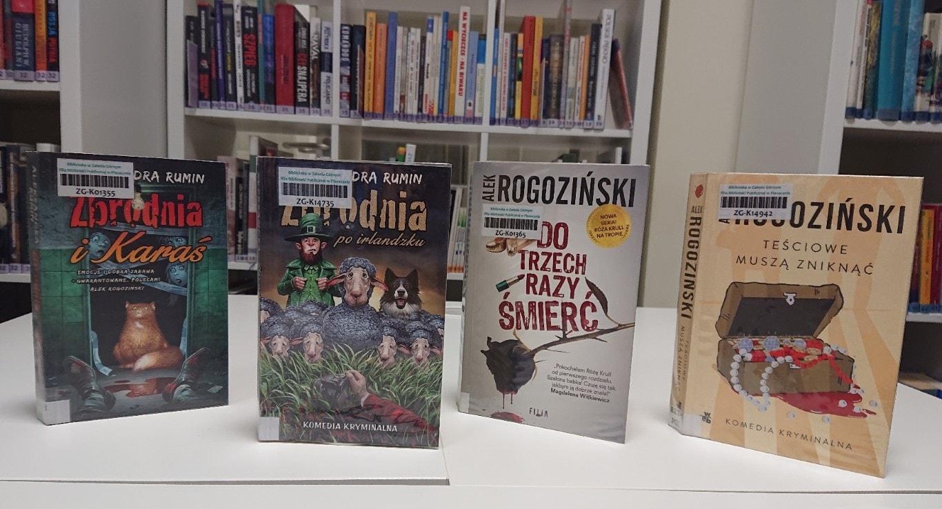 Z książką przy kawie - komedie kryminalne