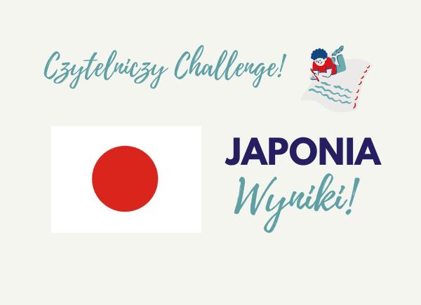 Czytelniczy Challenge Japonia - Wyniki
