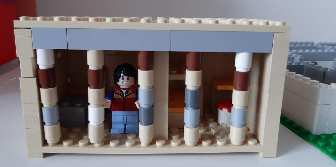 """Kalambury zklocków LEGO: Aleksandra Piwowarska - """"Więzień Labiryntu"""" Jamesa Dashnera"""