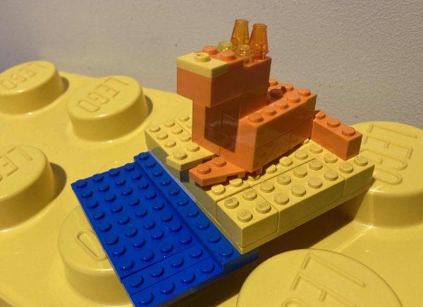 Kalambury z klocków LEGO