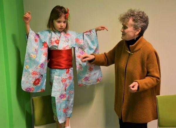 Spotkanie z Japonią. Tradycyjne Japońskie Kimono.