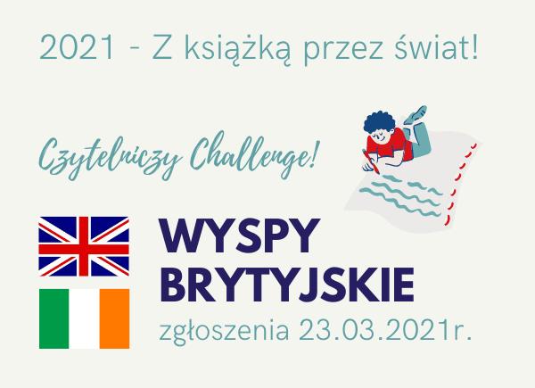 Czytelniczy Challenge Marzec IWyspy Brytyjskie
