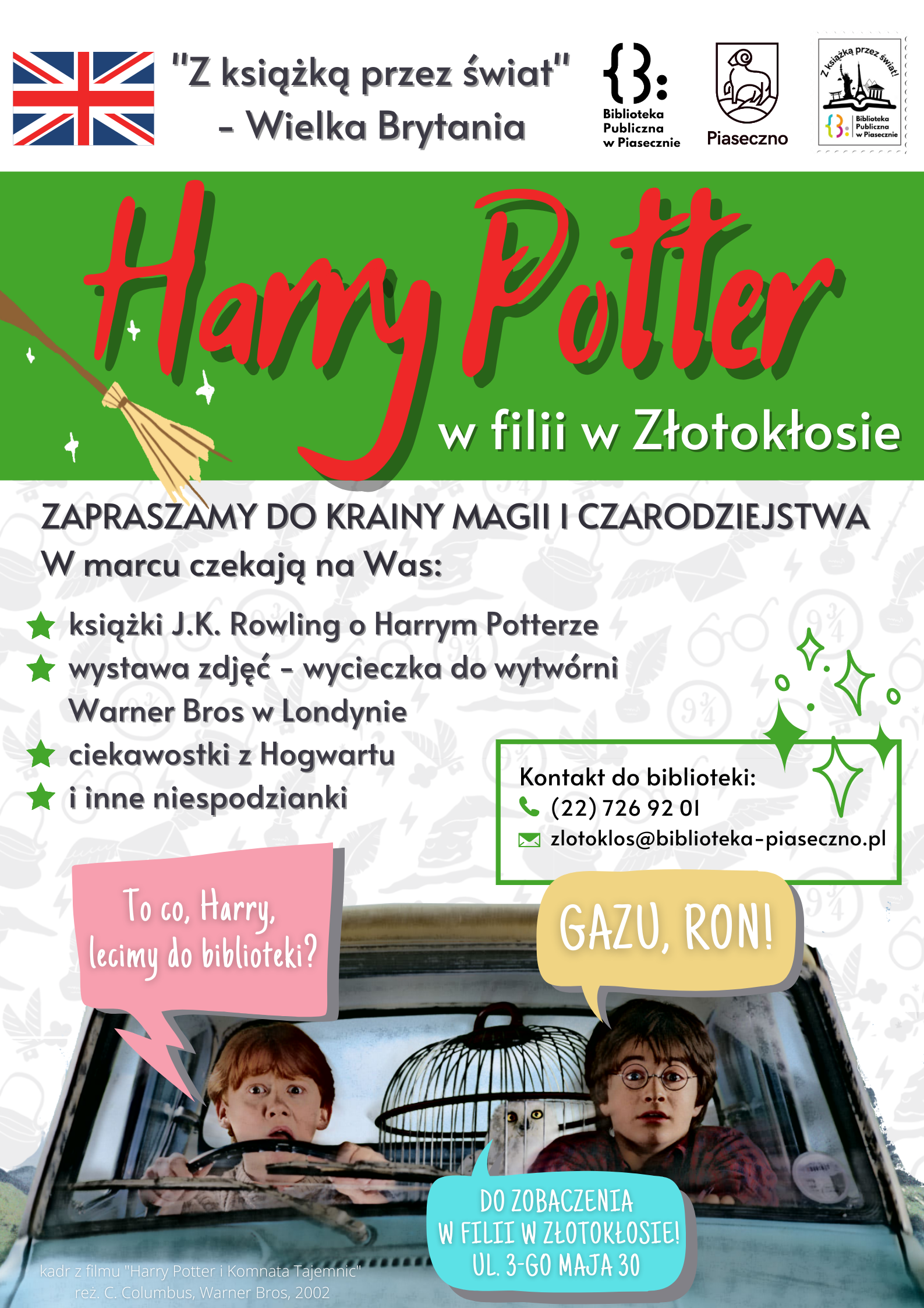 Harry Potter w filii Złotokłos