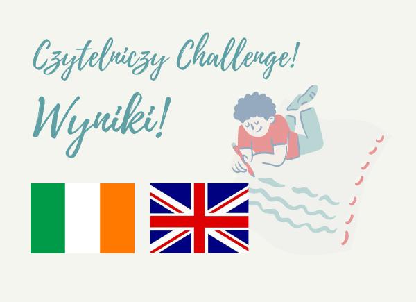 Wyniki konkursu Czytelniczy Challenge w marcu 2021