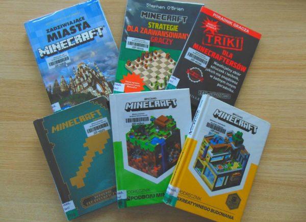 Książki oLego iMinecrafcie. Wystawka zokazji dnia scrabble