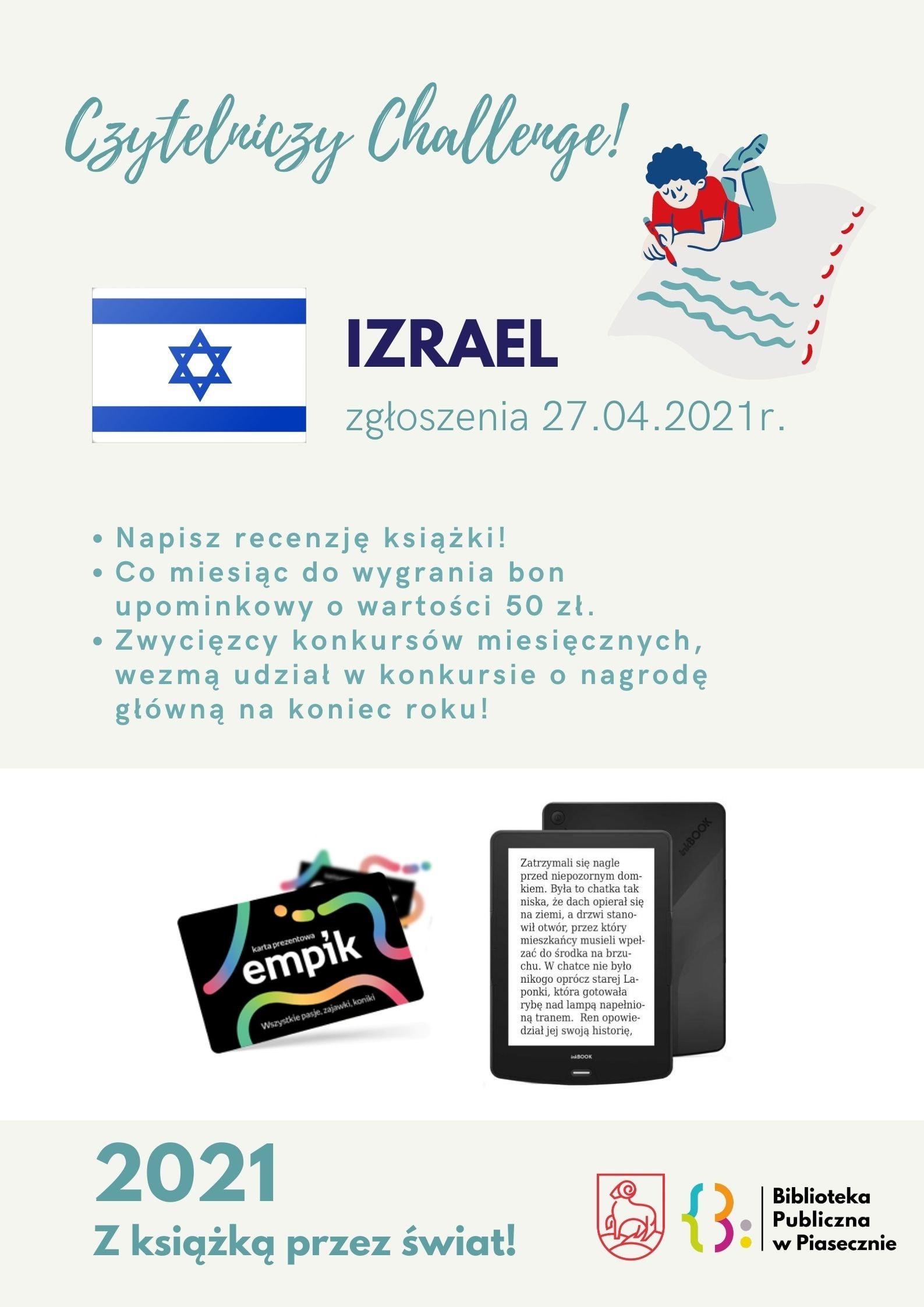 Czytelniczy Challenge Izrael